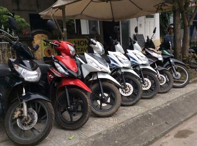 Thủ tục giấy tờ khi thuê xe máy Đà Nẵng