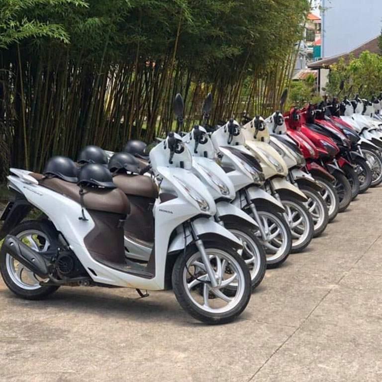 Điểm thuê xe máy du lịch theo các quận ở Đà nẵng