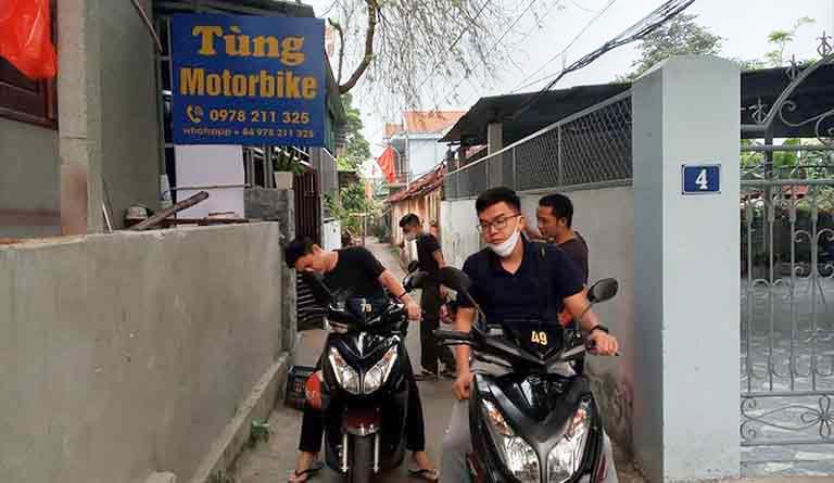 thuê xe máy Đồng Hới