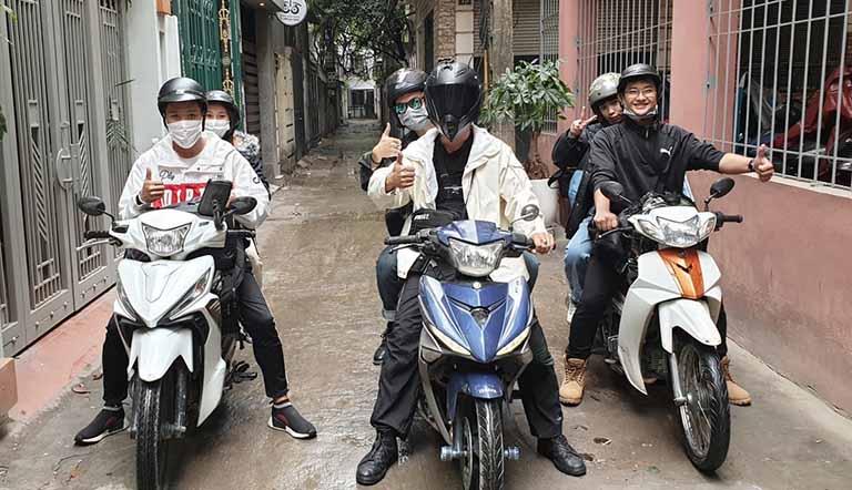 """13535 Motorbike Rental Hanoi có đầy đủ các dòng xe từ """"bình dân"""" đến """"cao cấp"""""""