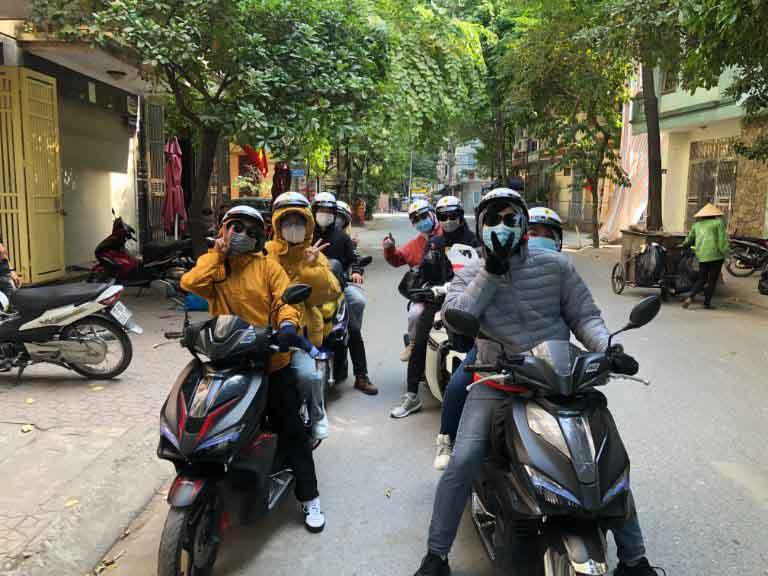 thuê xe máy hà nội quận ba đình