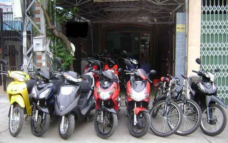 thuê xe máy hai bà trưng