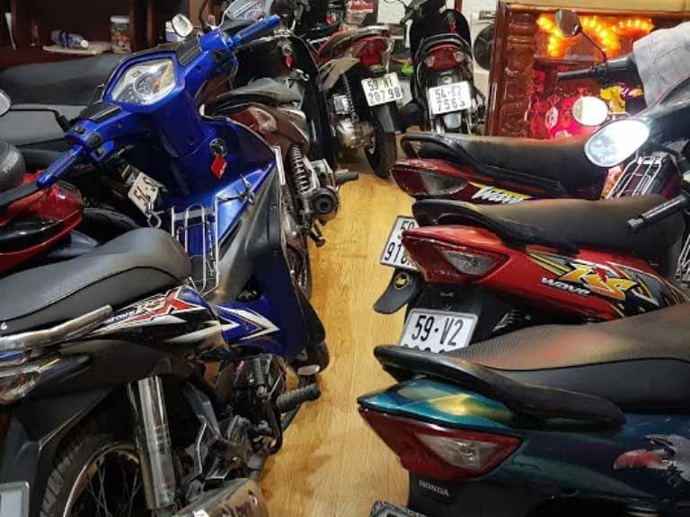 thuê xe máy sài gòn quận 10