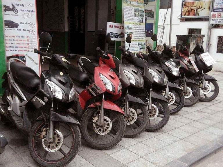 Top các địa chỉ cho thuê xe máy gần sân bay Đà Nẵng nhất