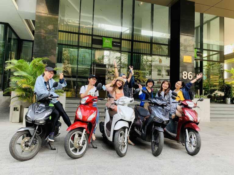 thuê xe máy tại sân bay Nha Trang