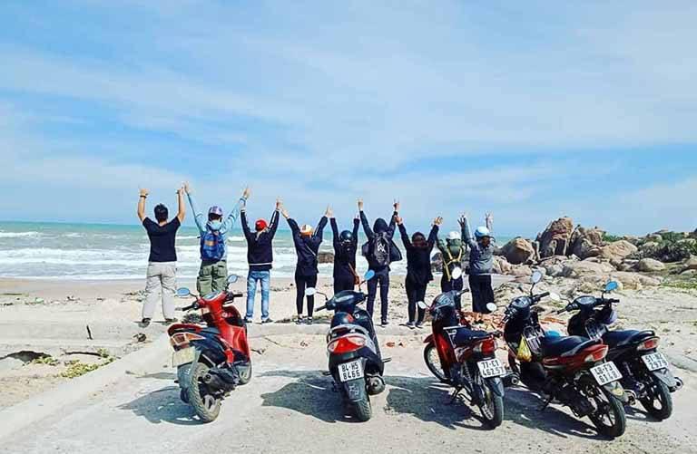 thuê xe máy Côn Đảo
