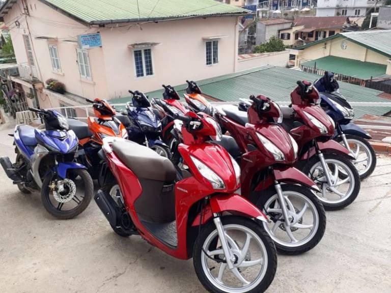thuê xe máy Buôn Ma Thuột