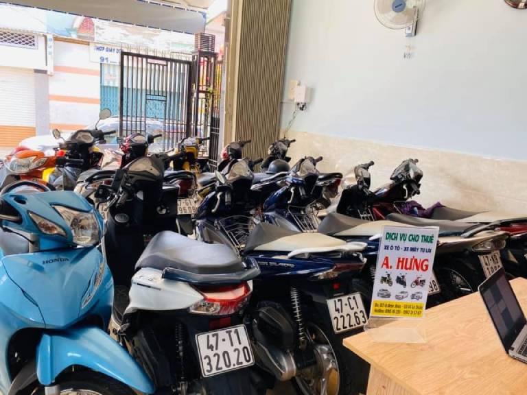 thuê xe máy Đắk Lắk