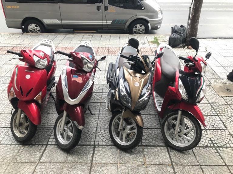 thuê xe máy mỹ tho tiền giang