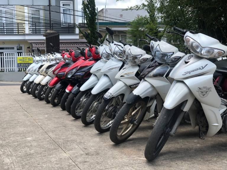 thuê xe máy ở Đắk Nông
