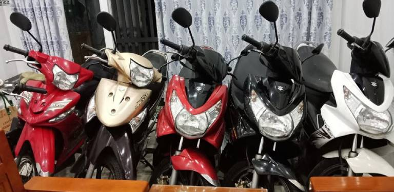 thuê xe máy phan rang ninh thuận