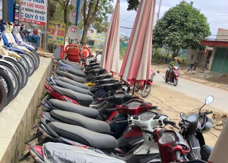 Thuê xe máy Sơn La