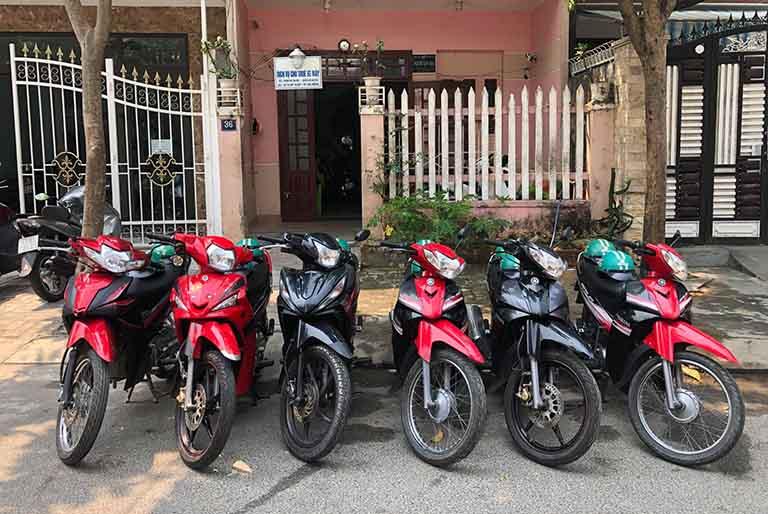 thuê xe máy Vĩnh Phúc