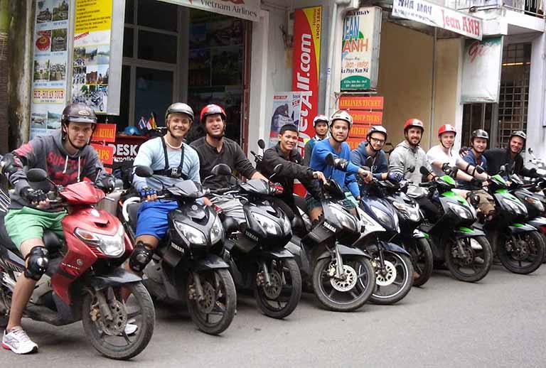 thuê xe máy Yên Bái