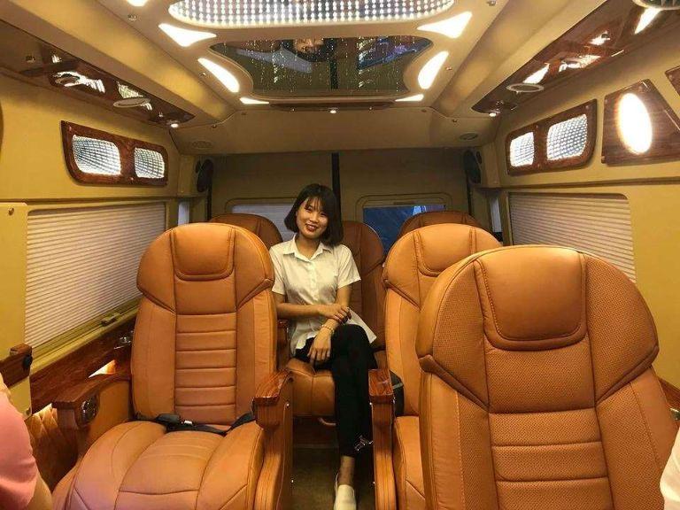 Xe Green limousine chạy tuyến Hà Nội Bắc Ninh