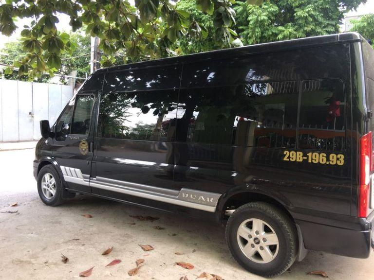 Xe limousine Hà Nội - Bà Rịa Vũng Tàu