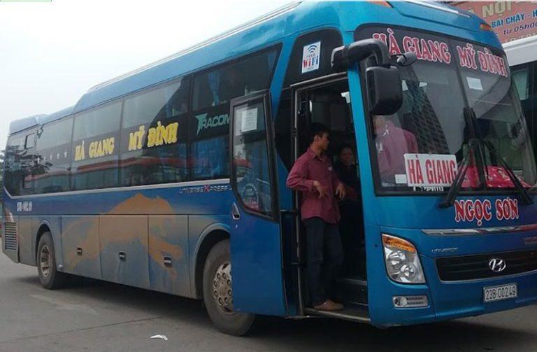Sơn Ngọc - xe khách Hà Nội - Bắc Kạn