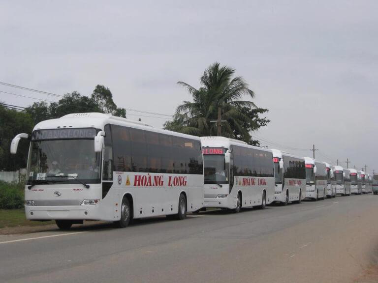 Xe khách Hoàng Long đi từ Hà Nội về Bình Phước