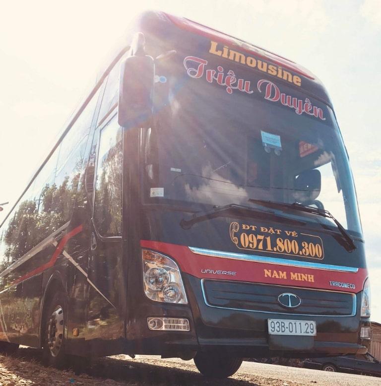Xe khách Hà Nội Bình Phước