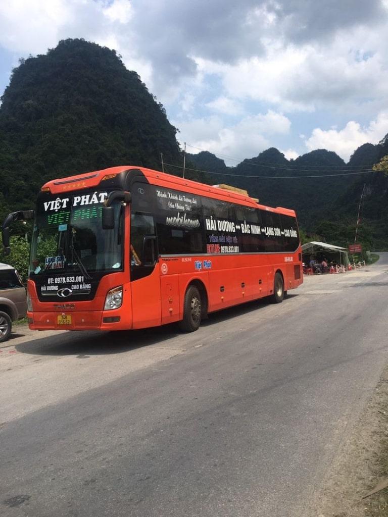 Xe khách Việt Phát Cao Bằng