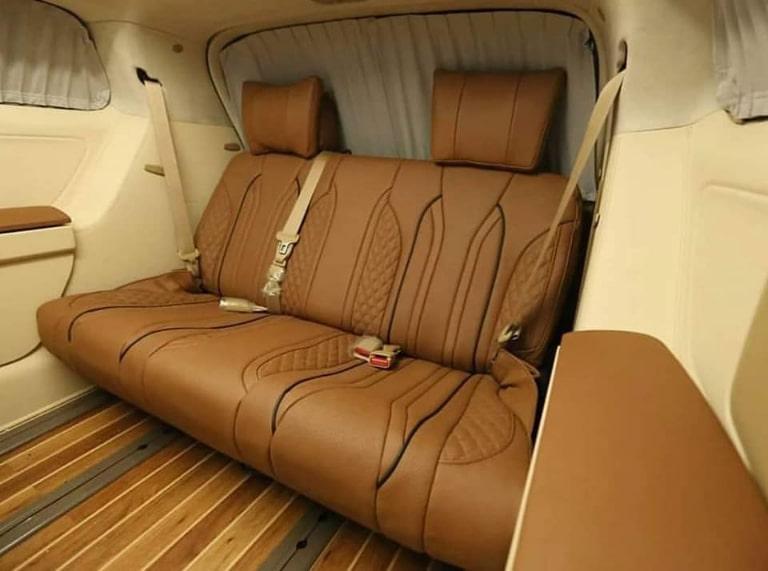 Nội thất xe Limousine Thuận An