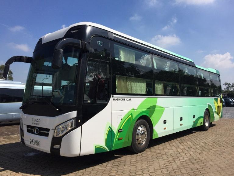 Xe khách Hoàng Vân tuyến Hà Nội - Đà Nẵng