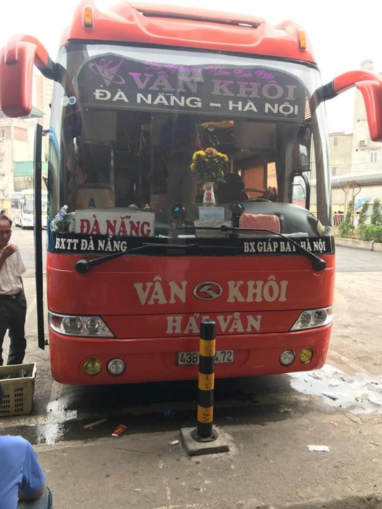 Xe khách Vân Khôi đi Đà Nẵng