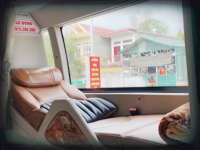 Giường nằm trên xe