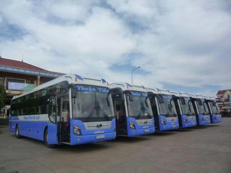 Xe khách Thuận Tiến - xe khách Hà Nội - Gia Lai