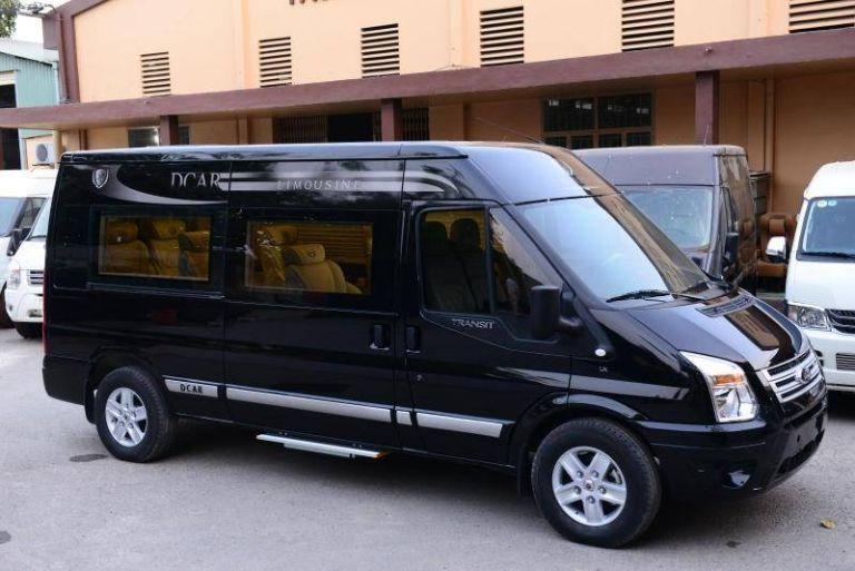 Xe Ngọc Cường Limousine chất lượng cao