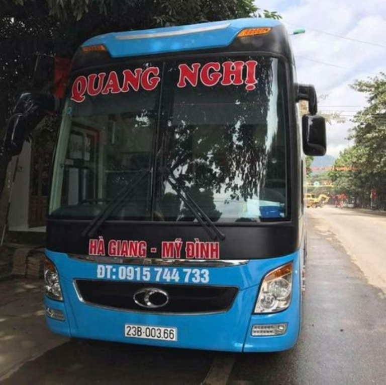 Xe khách Hà Nội đi Hà Giang - Quang Nghị