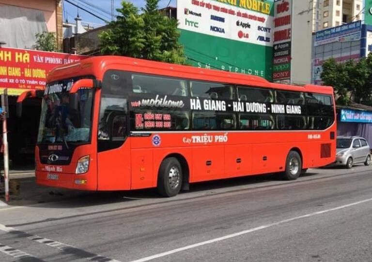 Nhà xe Toán Oanh