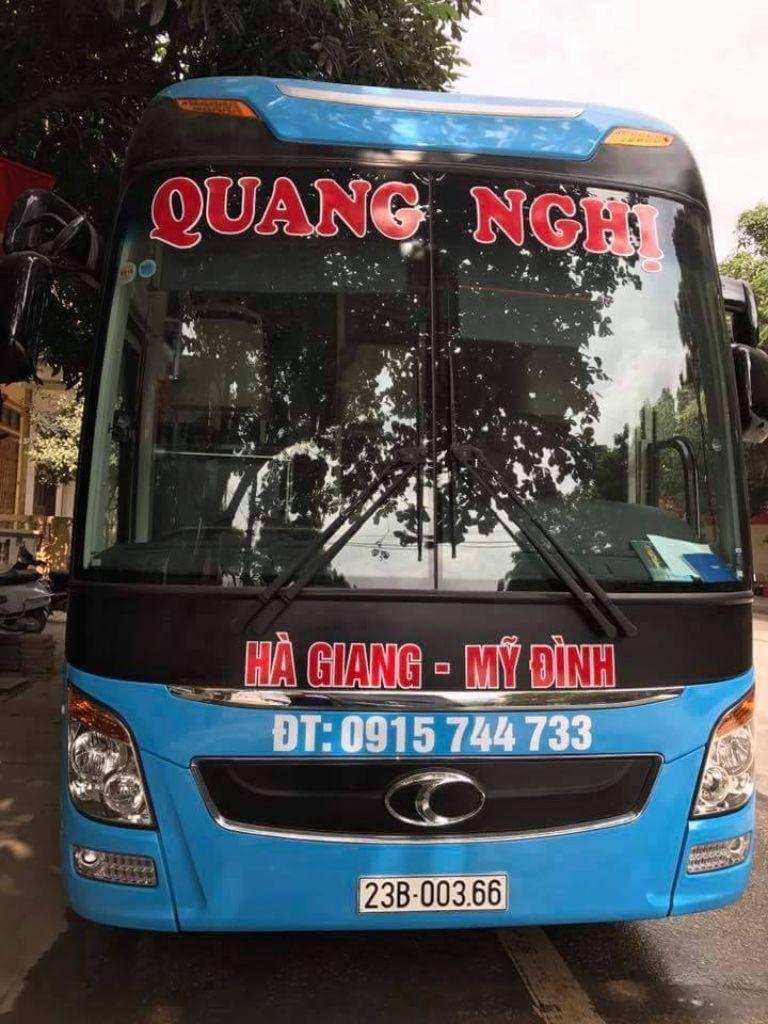 Xe Quang Nghị Hà Giang - Hà Nội