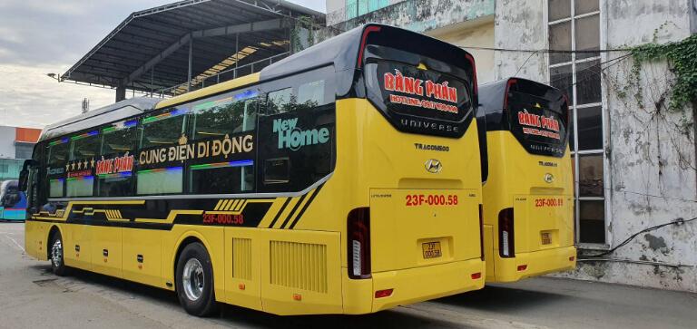 Xe khách Bằng Phấn đi Hà Giang
