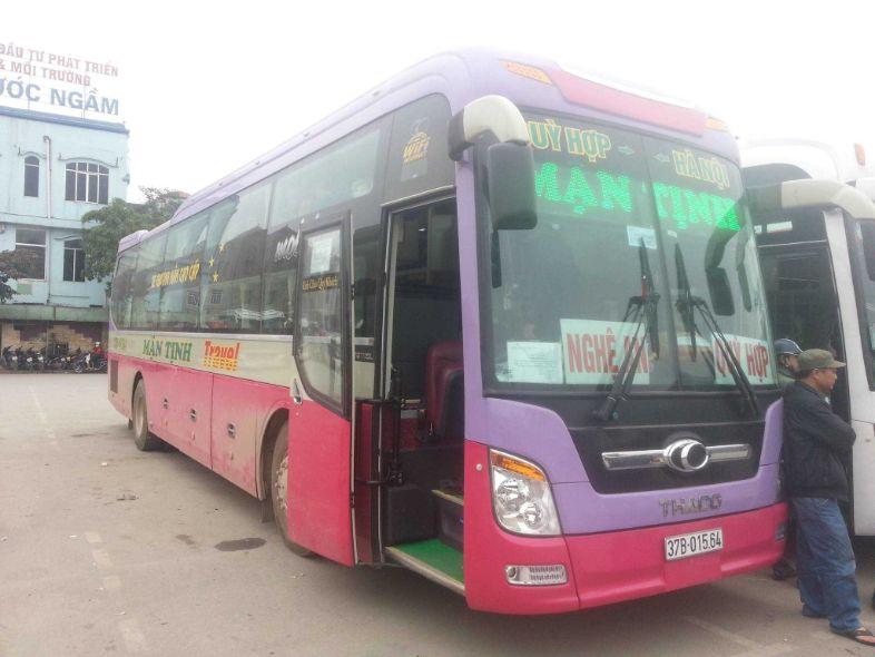 Nhà xe Mận Tịnh - xe khách Hà Nội - Hà Nam