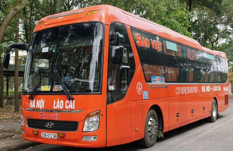Nhà xe Sao Việt - xe khách Hà Nội - Hà Nam