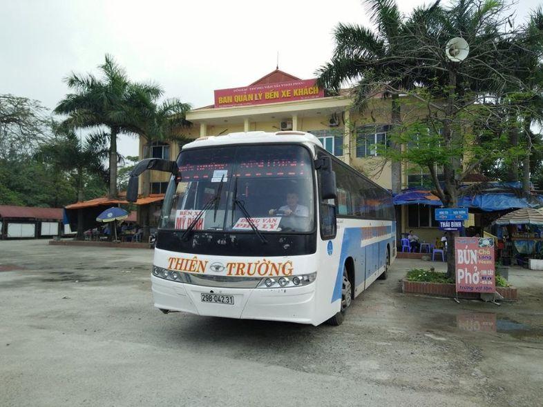 Nhà xe Thiên Trường - xe khách Hà Nội - Hà Nam