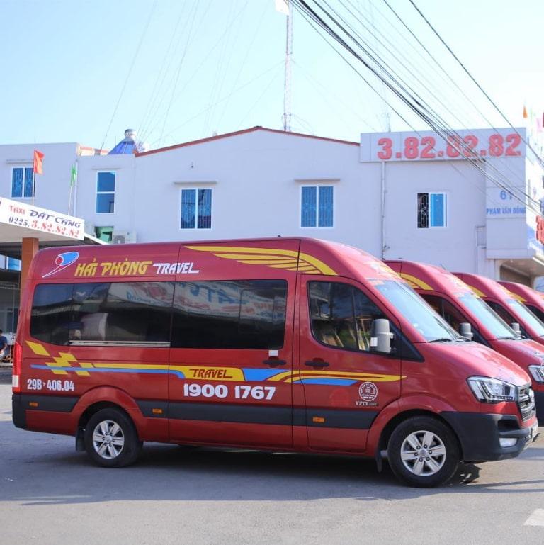 Xe limousine Hải Phòng Travel