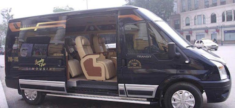 Xe khách Luxury Van