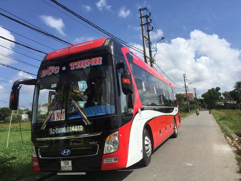 Xe khách Đức Thịnh Hà Nội - Huế