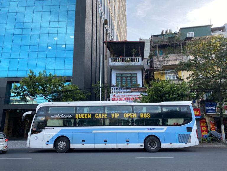 Xe khách Hà Nội Huế Queen Cafe