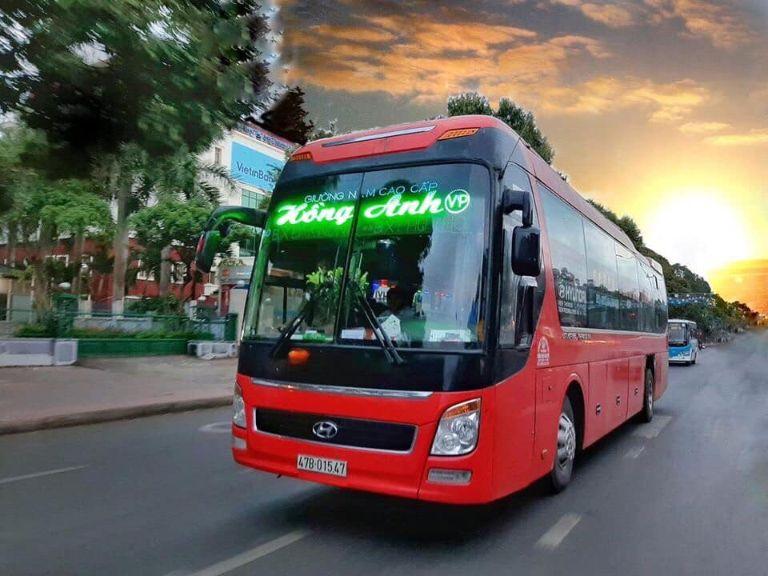 Hồng Anh - Tuyến xe khách Hà Nội Kon Tum