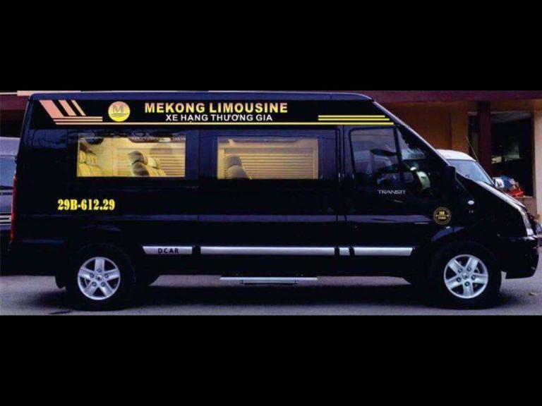 Mekong Limousine - Xe khách từ Hà Nội đi Kon Tum