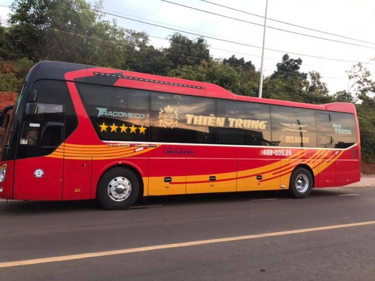 Thiên Trung - Xe khách Bến xe Nước Ngầm đi Kon Tum