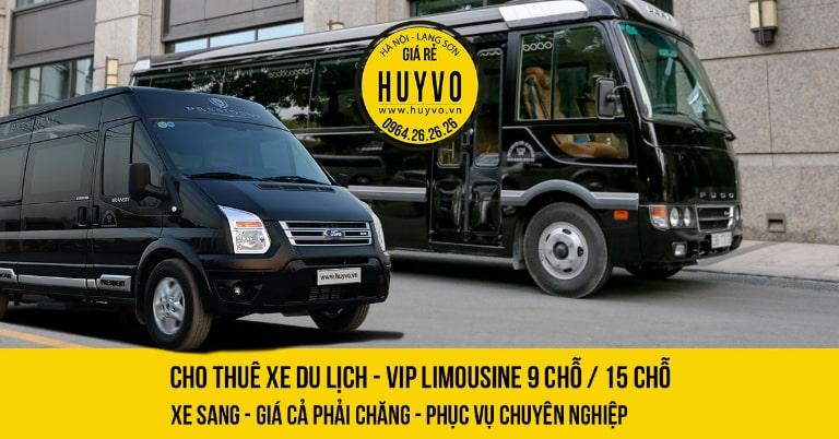 Xe Limousine đi Lạng Sơn Huy Võ