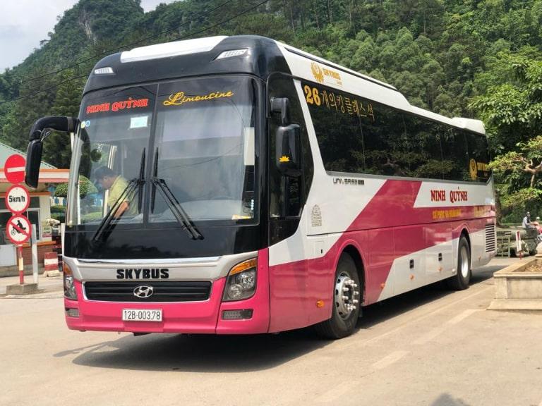 Xe khách Ninh Quỳnh chuyên tuyến Hà Nội Lạng Sơn