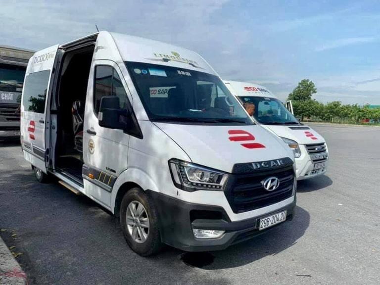 xe khách Lào Cai Eco Sapa