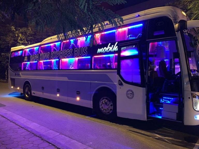 King Express Plus - Xe khách Hà Nội đi Lào Cai