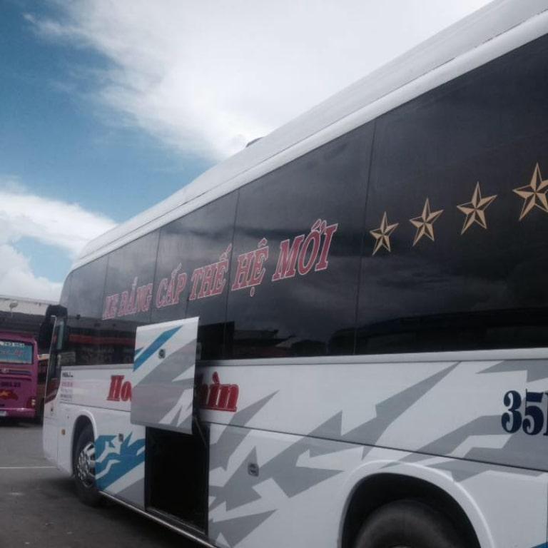 xe khách Hoàng Thìn vào Nha Trang