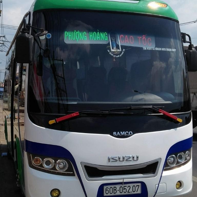 Xe Phượng Hoàng chạy từ Hà Nội